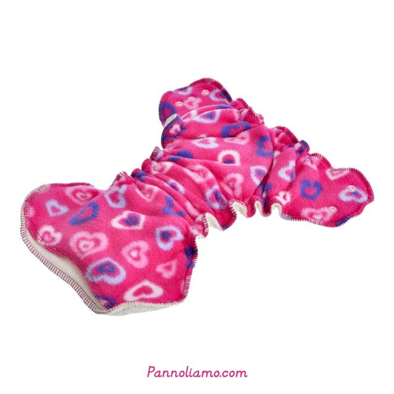 Pannolini da notte Bum Hugger Ella's house - bottoni