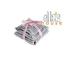 Kit prova 3pz Assorbenti lavabili in canapa e cotone bio - Ella's house