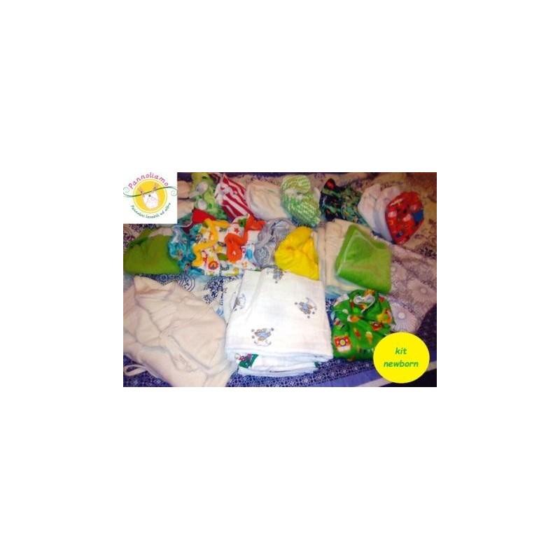Kit Noleggio pannolini lavabili newborn