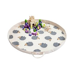 Tappeto gioco e Borsa 2-in-1 in tela di cotone 100% - 3 Sprouts
