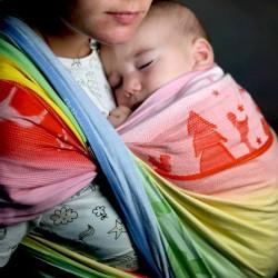 Fascia portabebé Ostheimer Rainbow Magic  - Didymos (II scelta)