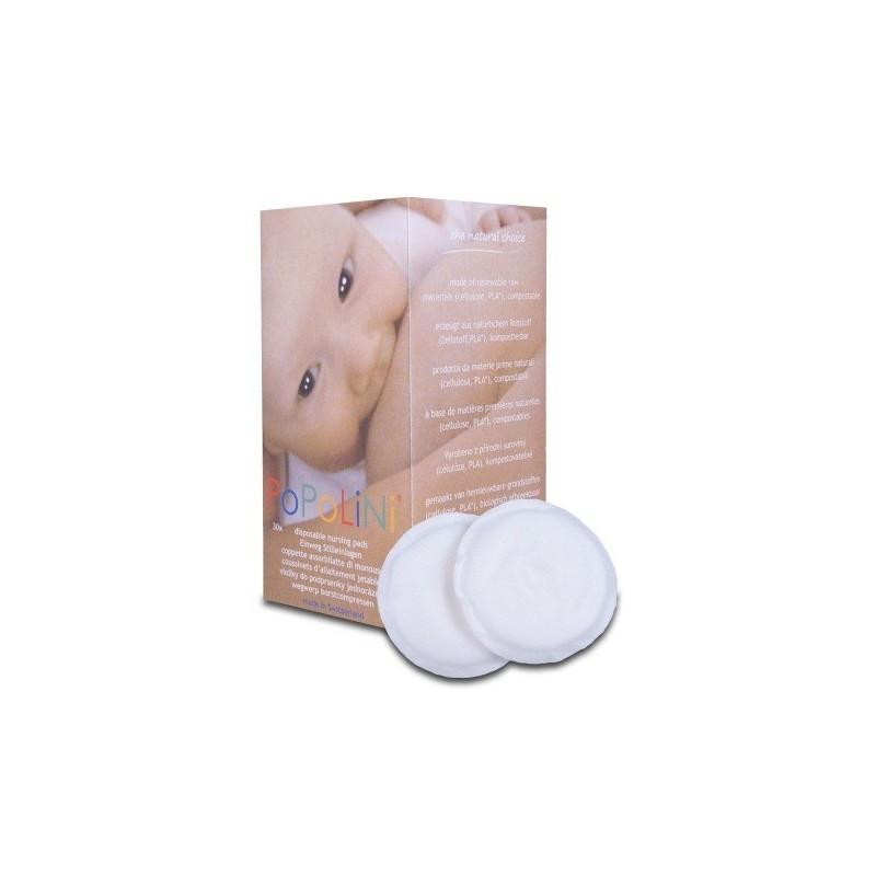 Coppette assorbilatte biodegradabili - Popolini