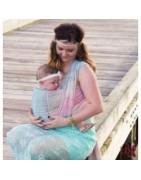 fasce e marsupi ergonomici, babywearing, cover per portare ed accessori